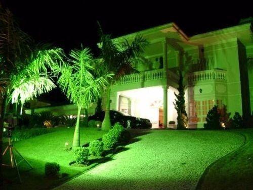 Refletor  de Led 20 whats Luz Verde - Foto 3