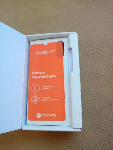 Motorola E 6plus novíssimo!