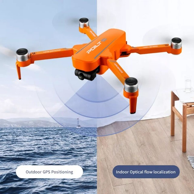 Drone JJRC X17 GPS 5G Dual GIMBAL 6k Grande Promoção - Foto 6