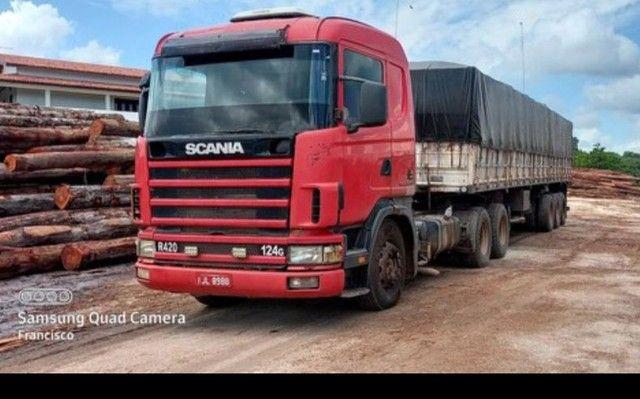 Vende Cavalo Scania 124 420 ano 2000 série 4 - Foto 3