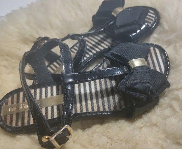 Sandália infantil molequinha/ brechó n 27