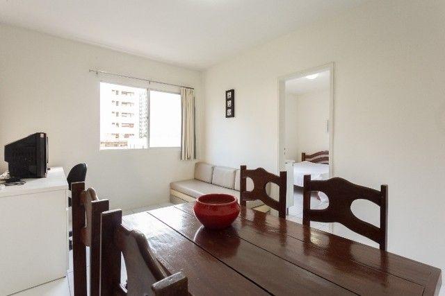 Apartamento 31 B, mobiliado c/ 1 quarto de frente em Boa Viagem - Recife - PE