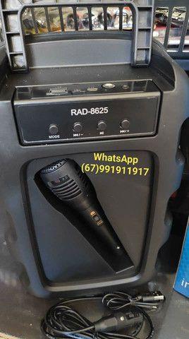 Caixa de som Inova com microfone. - Foto 2