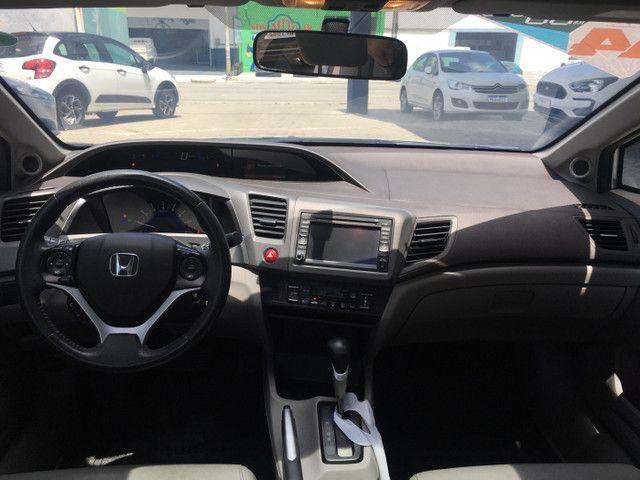 Honda Civic Lxr 2.0 2014 Automático Blindado - Foto 9