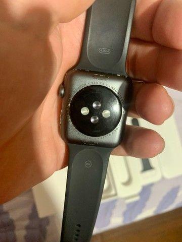 Apple Watch série 3 42mm Completo na caixa  - Foto 5