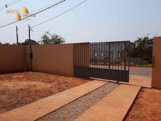 Casa com 2 dormitórios à venda, 64 m² por R$ 172.000 - Jardim Glória l - Várzea Grande/MT