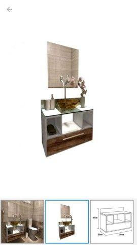 Vendo gabinete para banheiro - Foto 6