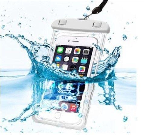 Capa para celular A prova D`água universal - Iphone, Samsung, Motorola, entre outros - Foto 4