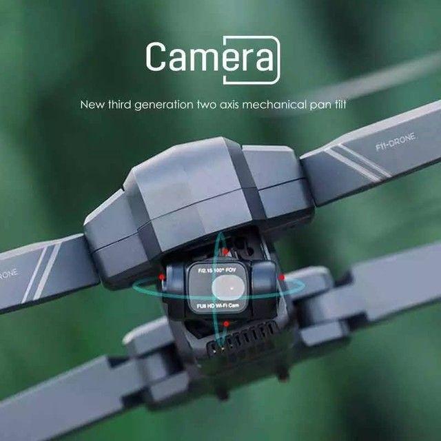 Drone SJRC F11 Pro 4k GPS Maleta Gimbal Estabilizador Eletrônico de imagens e EIS 1500mts - Foto 4