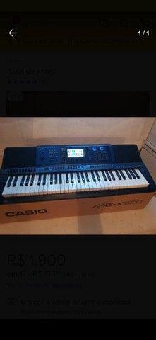 Teclado musical Casio mzx500