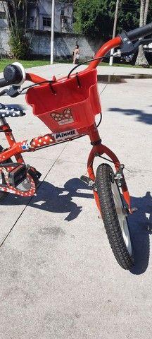 Bicicleta bike caloi menina aro 15 - Foto 4