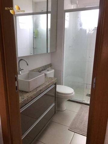 Apartamento com 3 dormitórios à venda, 106 m² por R$ 750.000,00 - Areão - Cuiabá/MT - Foto 6