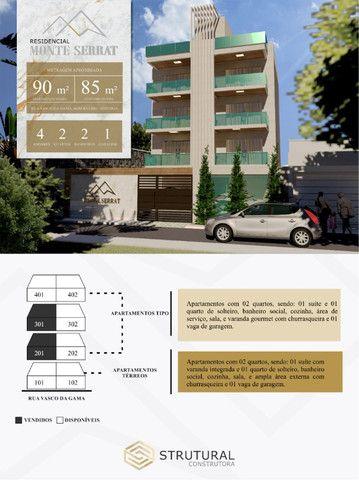 Apartamento Bom Retiro. Cód. 258. 2 qts/suíte. Sac. Gourmet., 85 e 90 m². Valor 280 mil - Foto 2