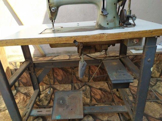Máquina de costura Durkopp transporte simples - Foto 4