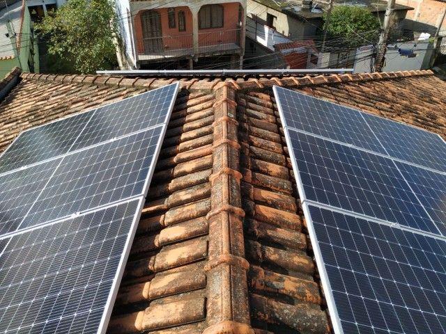Sistema solar/ Energia renovável limpa. - Foto 5
