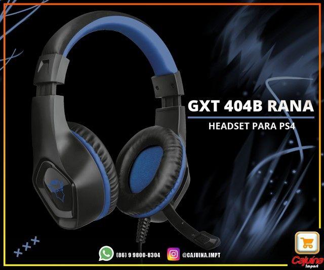 Headset Gamer trust Gxt 404b Rana azul M21sd9sd21
