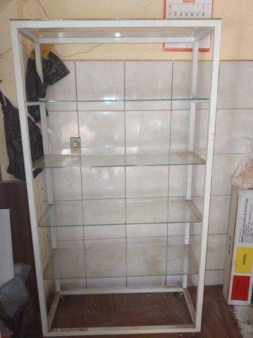 Vendo estante de vidro usada  - Foto 2