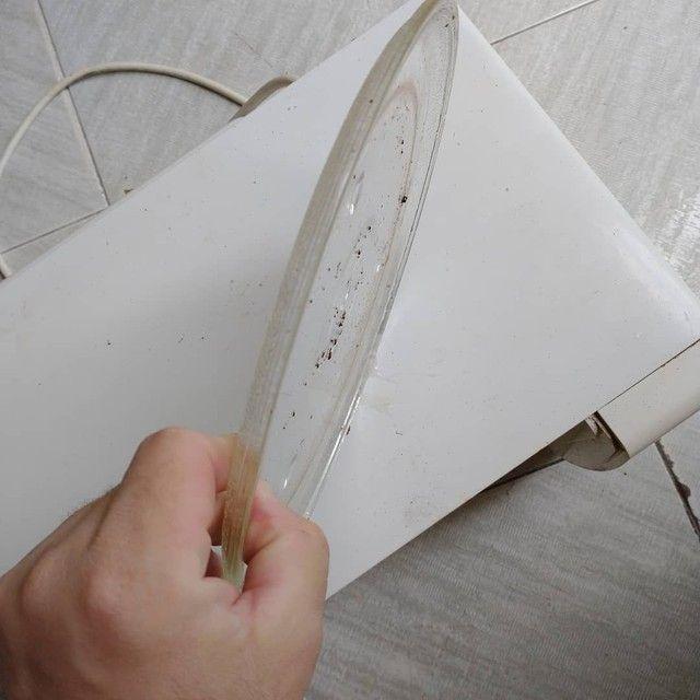 Prato para Forno Micro ondas Brastemp,de Vidro, ACEITO TROCAS - Foto 3
