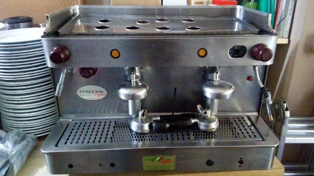 Máquina café expresso 2 grupos - Usada