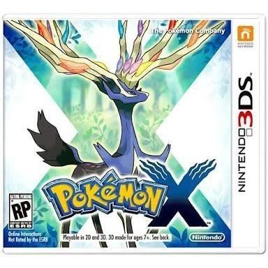 Compro Pokémon X para Nintendo 3DS