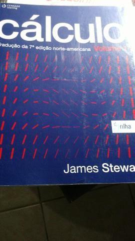 Vendo livro James Stewart Cálculo volume 1 em ótimo estado
