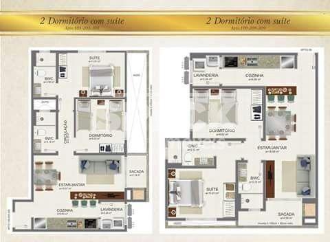 Apartamento à venda com 2 dormitórios em Canasvieiras, Florianópolis cod:AP000561 - Foto 4