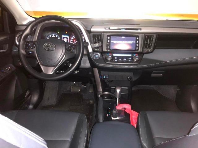 Toyota Rav4 2018 Top + Teto Solar 6 Mil Kms R 123.000,00 Ac Trcs ( - ) Valor - Foto 10