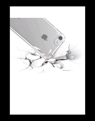 Capinha de iPhone 7 e 8 com pelicula de vidro - Foto 3