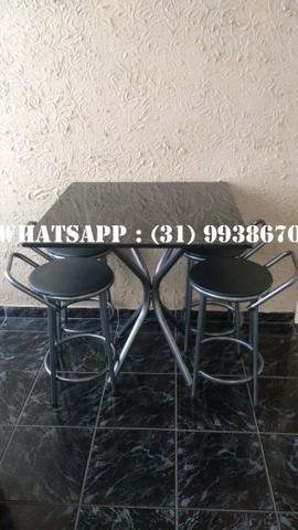 Mesas de 4 Cadeiras Direto Da Fábrica - Foto 5