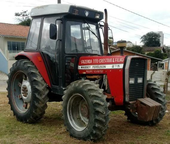 Trator agrícola Massey ferguson 275 (cabinado) - Foto 2