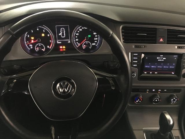 Vw Golf Comfortline 1.4 Tsi 140cv Automatico gasolina Preto 2015 - Foto 9