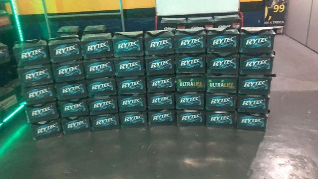 Baterias rytec 60ah novas com 1 ano de garantia e selo do inmetro