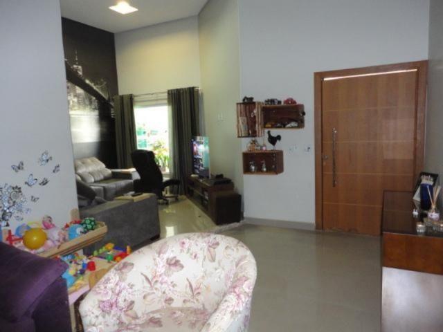 Vicente pires, linda e moderna casa, sala com pé direito duplo - Foto 3
