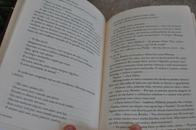 Livro clássico- Fahrenheit 451 de Ray Bradbury - Coleção Folha Grandes nomes da Literatura - Foto 3