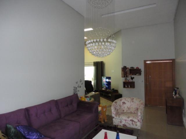 Vicente pires, linda e moderna casa, sala com pé direito duplo - Foto 5
