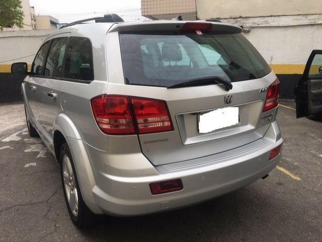 Dodge journey 2011 blindada 3a rt 2.7 v6 top facilito no cartao em ate 18x - Foto 6