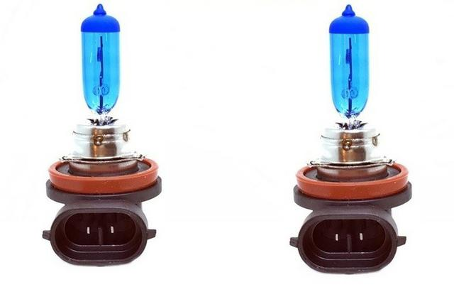 Par Lampada Super Branca H8 8500K 12V 35W - Foto 2