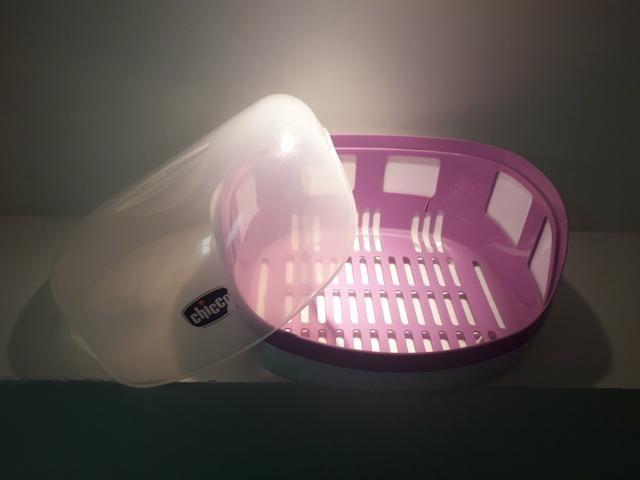 Esterilizador de mamadeiras original CHICCO - Foto 2