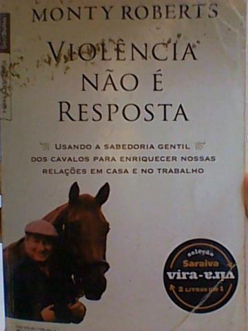 O Homem Que Ouve Cavalos/Violência Não é Resposta R$ 10,00 - Foto 3
