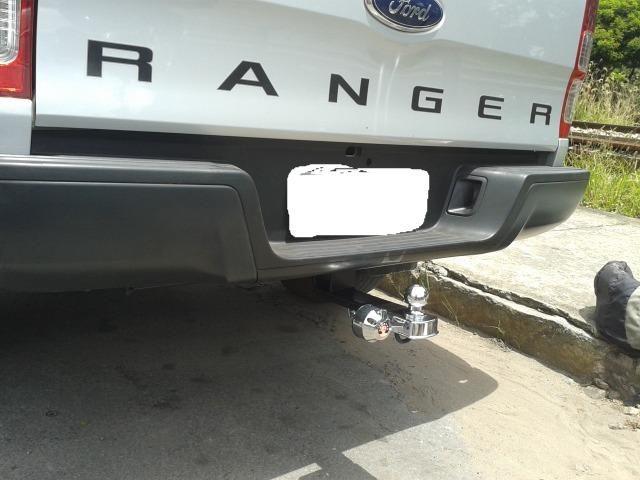 Engate-reboque caminhontes fixo e removivél - Foto 11