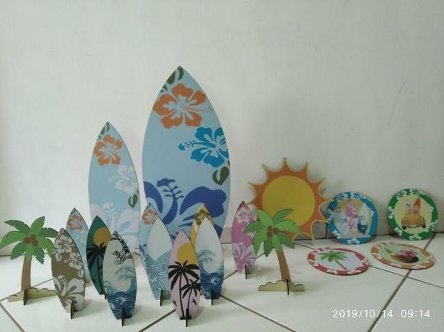 Decoração Festa Surf - Foto 2