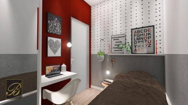 Sobrado com 3 dormitórios à venda, 99 m² por R$ 285.000,00 - Aventureiro - Joinville/SC - Foto 3