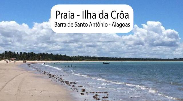 Litoral Norte - Barra de Santo Antônio - Ilha da Croa - Em Rua Pavimentada - Foto 19