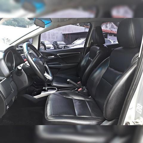 Honda Fit EX 1.5 - Completo com GNV 5ª Geração - Foto 8