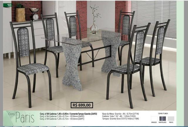 Promoção das Fabricas - Mesas e Banquetas em aço Inox - Foto 3