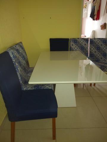 Vendo linda mesa de 6 cadeira - Foto 4
