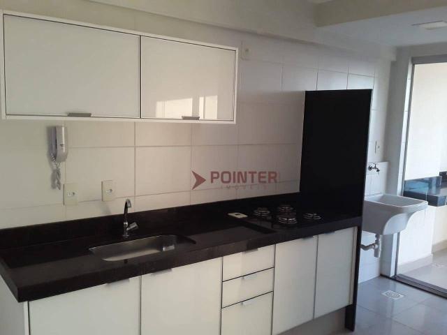 Apartamento com 1 dormitório para alugar, 47 m² por R$ 1.200,00/mês - Setor Leste Universi - Foto 3