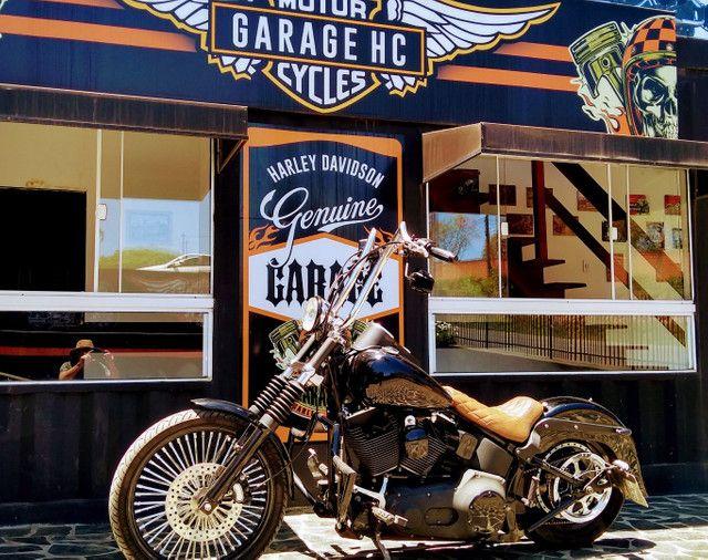Night Train FX Carburada Harley Davidson