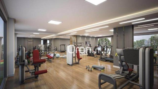 Apartamento com 3 dormitórios à venda, 80 m² por R$ 446.000,00 - Setor Bueno - Goiânia/GO - Foto 4