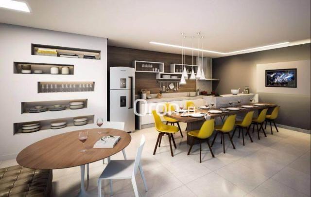 Apartamento com 3 dormitórios à venda, 80 m² por R$ 446.000,00 - Setor Bueno - Goiânia/GO - Foto 7